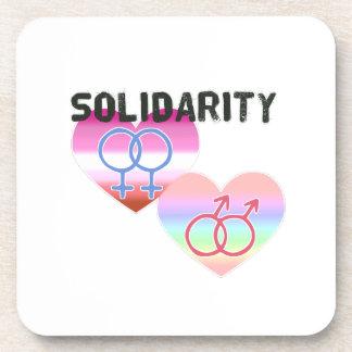 Porta-copo Solidariedade alegre lésbica