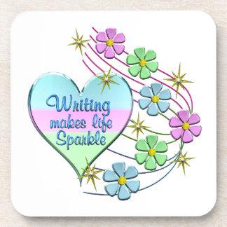 Porta-copo Sparkles da escrita