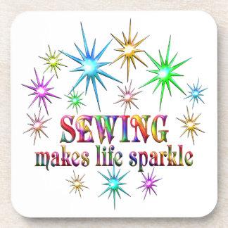 Porta-copo Sparkles Sewing