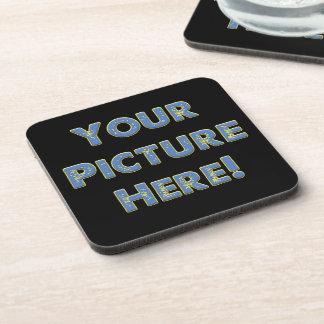 Porta-copo Sua imagem feita sob encomenda sobre