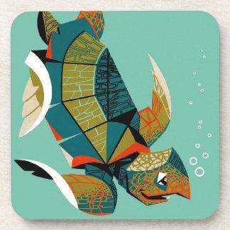 Porta-copo Tartaruga de mar australiana animador
