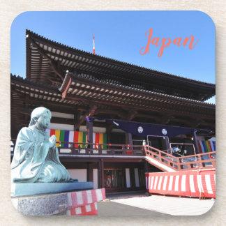 Porta-copo Templo em Tokyo, Japão