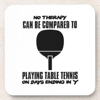 Porta-copo Tensão e design impressionante do ténis de mesa
