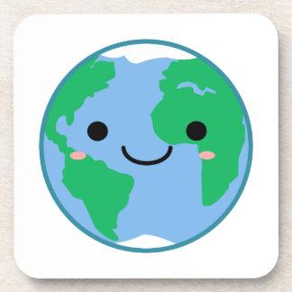Porta-copo Terra do planeta de Kawaii