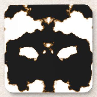 Porta-copo Teste de Rorschach de um cartão da mancha da tinta