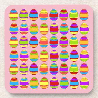 Porta-copo Teste padrão do ovo da páscoa