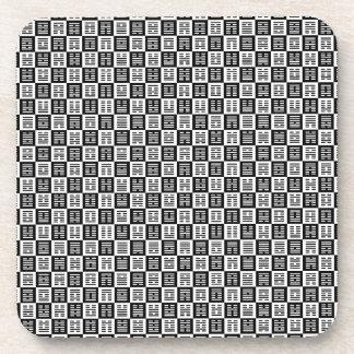 Porta-copo Teste padrão dos Hexagrams