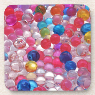 Porta-copo textura das bolas da geléia do colore