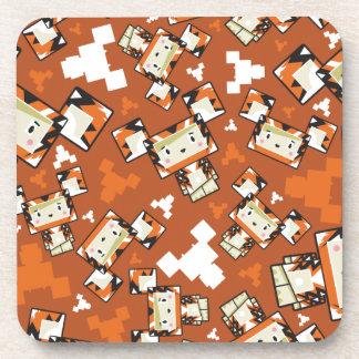 Porta-copo Tigre bonito de Blockimals dos desenhos animados