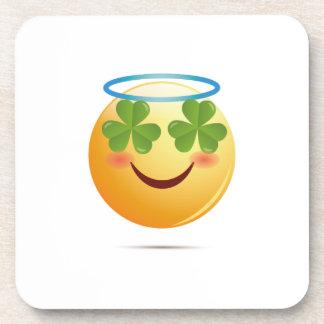 Porta-copo Tombadilho de Emoji do dia de St Patrick para