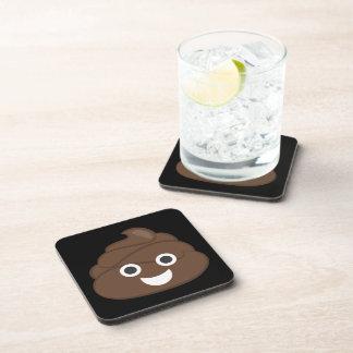 Porta-copo Tombadilho parvo louco Emoji de Brown