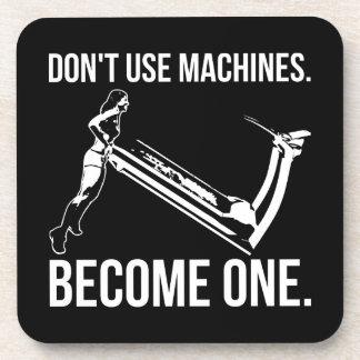 Porta-copo Torna-se uma máquina, escada rolante de