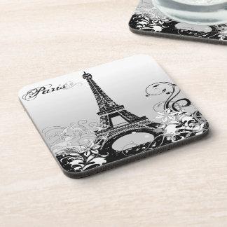 Porta-copo Torre Eiffel Paris (B/W) portas copos (ajuste de