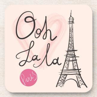Porta-copo Torre Eiffel tirada mão
