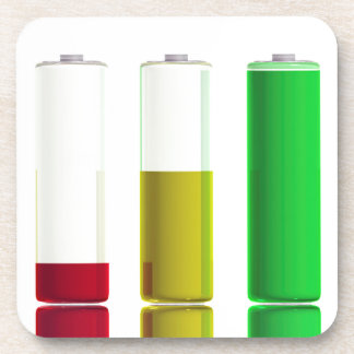 Porta-copo Três baterias