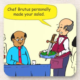 Porta-copo Um Brutus de 904 cozinheiros chefe fez os desenhos