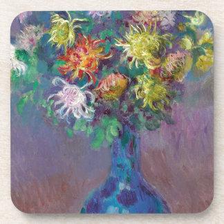 Porta-copo Vaso dos crisântemos Claude Monet