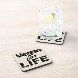 Porta-copo Vegan para a VIDA (preto)