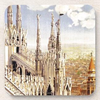 Porta-copo Viagem de Milão do vintage