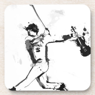 Porta-copo Violinista do basebol