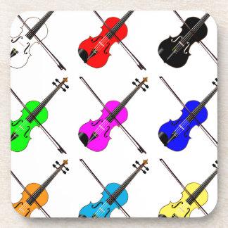 Porta-copo Violinos
