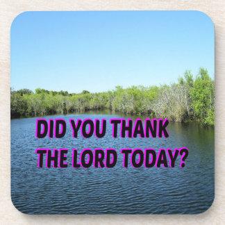 Porta-copo Você agradeceu ao senhor Hoje?