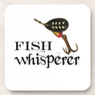 Porta-copo Whisperer dos peixes com atração