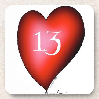 Porta-copos 13 dos corações
