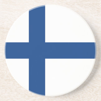 Porta-copos A bandeira de Finlandia - Siniristilippu