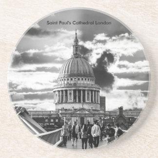 Porta-copos A catedral Londres de St Paul