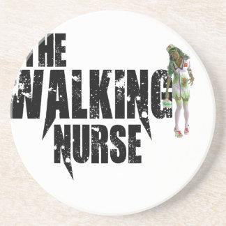 Porta-copos A enfermeira de passeio