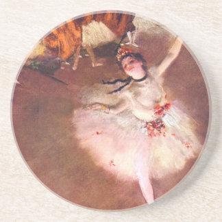 Porta-copos A estrela (dançarino no palco) por Edgar Degas