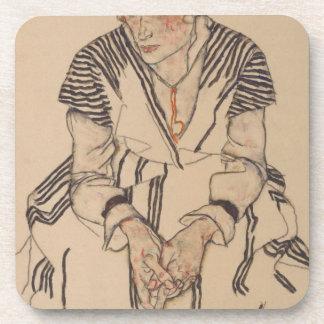 Porta Copos A irmã do artista de Egon Schiele- na lei