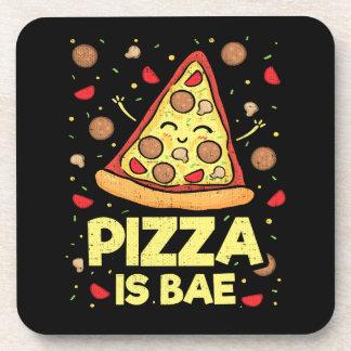 Porta-copos A pizza é Bae - desenhos animados engraçados -