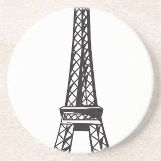 Porta-copos A torre Eiffel (viva)