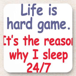 Porta Copos A vida é jogo duro, ele é a razão pela qual eu