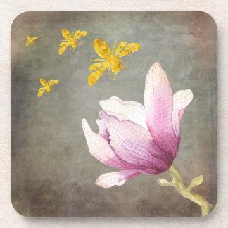 Porta Copos Abelhas da flor & do ouro da aguarela