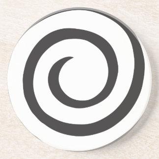 Porta-copos Abstrato espiral
