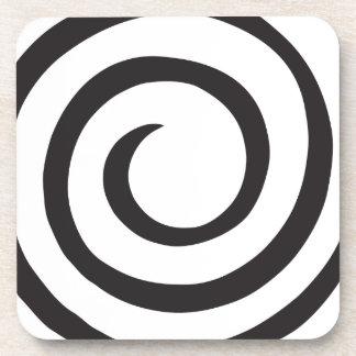 Porta Copos Abstrato espiral