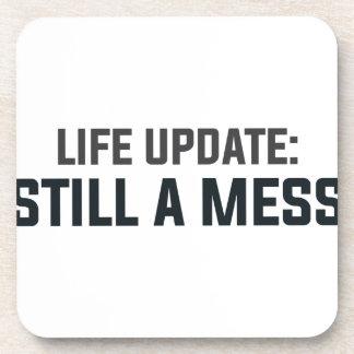 Porta-copos Actualização da vida: Ainda uma confusão