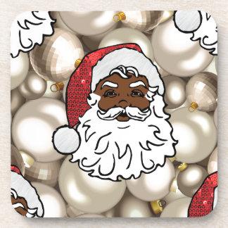Porta Copos africano Papai Noel