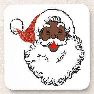 Porta Copos africano Papai Noel do sequin