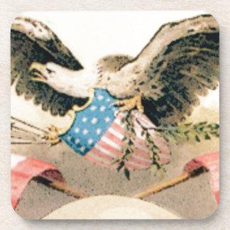 Porta Copos águia e selo das bandeiras