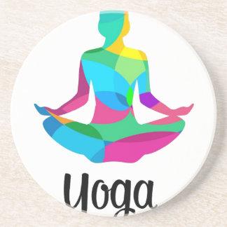 Porta-copos Ajuste e malhação da ioga