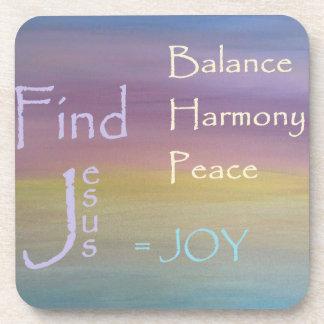 Porta Copos ALEGRIA da paz da harmonia do equilíbrio…