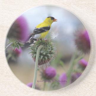 Porta copos americana do Goldfinch