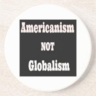 Porta-copos Americanismo, NÃO globalismo