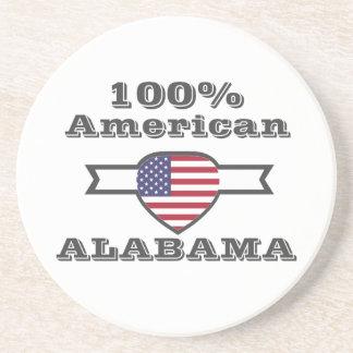Porta-copos Americano de 100%, Alabama