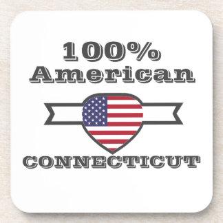 Porta-copos Americano de 100%, Connecticut