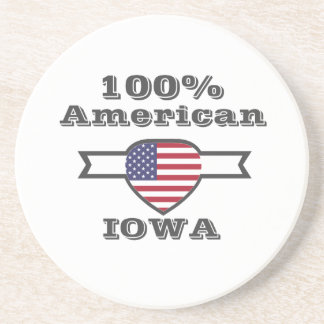Porta-copos Americano de 100%, Iowa